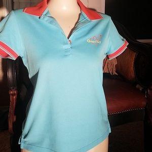 Dresses & Skirts - Golf shirt/sky blue